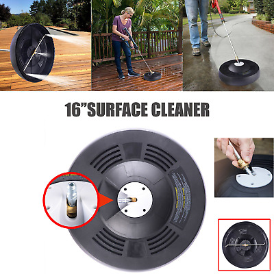 16'' Pressure Washer 1/4'' Quick Release Rotary Surface Patio Cleaner Attachment