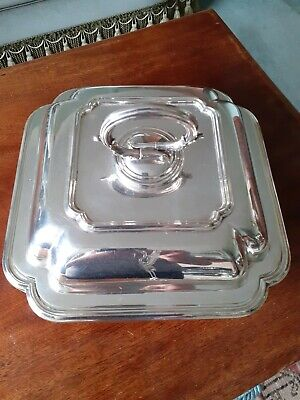 Silver Plated  Covered Entrees  Dish