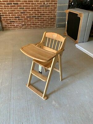 MOTHERCARE VALENCIA WOODEN Baby Highchair £30.00 | PicClick UK