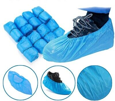 High Quality Polythene Disposable Foot Boot Covers 100pcs