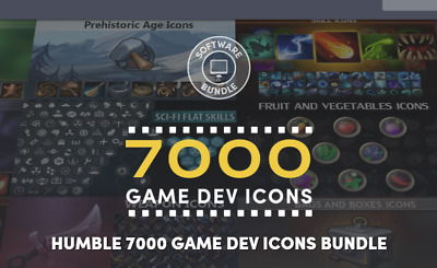 7000 Game Dev Icons Bundle! - $449 Worth Of Awesome Stuff