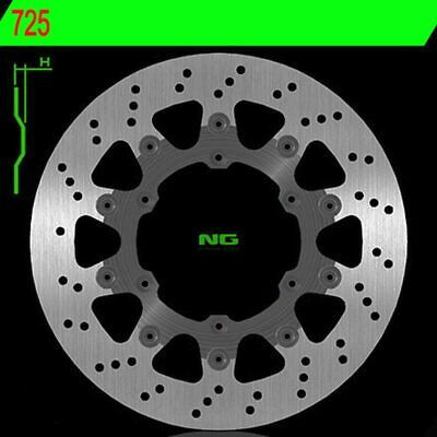 Brake Disc NG 725 320MM Floating Husaberg 550 Fe & 2004-2008