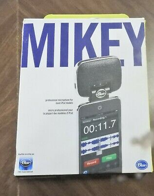 Blue Microphones Mikey 2.0 Microphone 2 for iPod NEW!