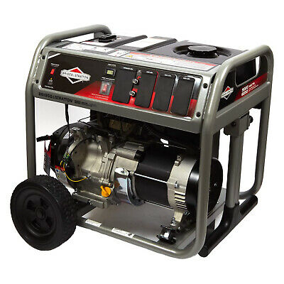Briggs & Stratton 30713 Gas Powered 5000 Watt Portable Generator with Wheels
