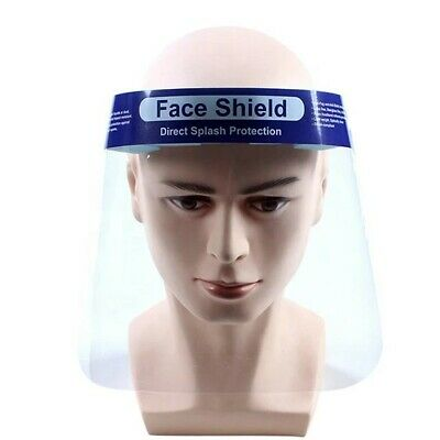 Full Face Safety Shield Mask Clear