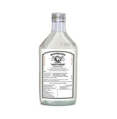 """WOODWARD'S GRIPE WATER FOR COLIC IN BABIES,""""an Ayurvedic formulation"""" 130ML FGH"""