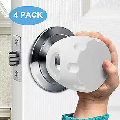 Door Knob Safety Cover Child Proof Door Knob Covers Baby Safety Doorknob Handle.
