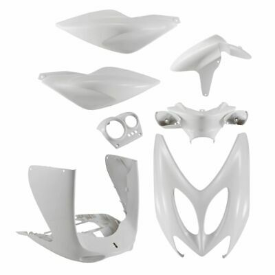 Set Fairings White 7 Pcs Yamaha 50 YQ Aerox / R 1997-2002
