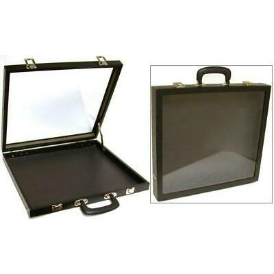 Jewelry Travel Case Glass Top Showcase Display Fixture
