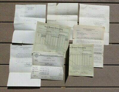Lot of Paperword Premiere Gold Mining Corporation Document Paper Lot