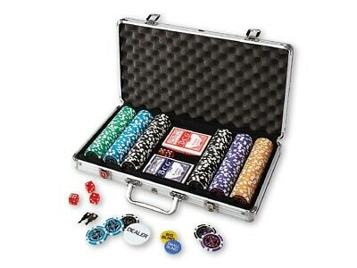 Poker Case With 300 High-Quality Poker Chips