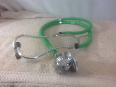 Nice ADC Lightweight Green Color STETHOSCOPE pre-owned MUST HAVE