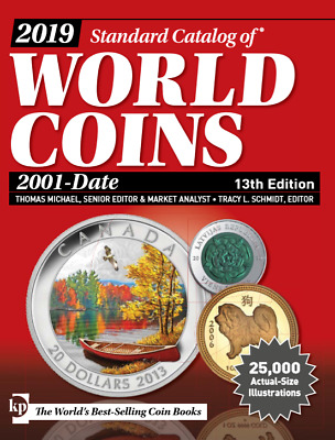 Digital book P.D.F KRAUSE 2019 Standard Catalog of WORLD COINS 2001-Date 13th