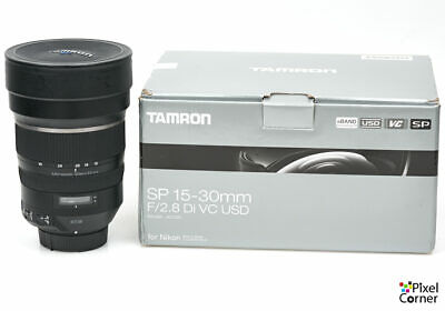 Tamron SP 15-30mm f/2.8 Di VC USD Ultra wideangle zoom lens Nikon fit Boxed