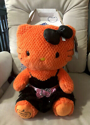 Sanrio Hello Kitty Build A Bear Plush Doll with Dress & Box