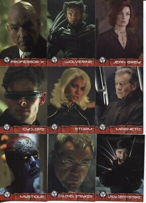 2003 X-Men 2: United Master Set, All Chase + Promos - All But Autographs Free Sh