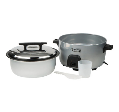 60 Cup Electric Rice Cooker Commercial Avantco (30 Cup Raw) / Warmer 120V, 1750W