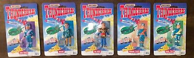 Vintage Thunderbirds Action Figure Toy Lot