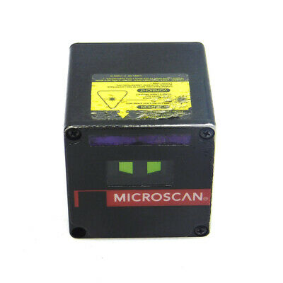 Microscan MS-520 Fixed Laser 10-28VDC Industrial Barcode Scanner FIS-0520-0004