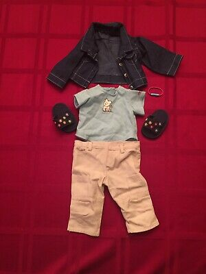 American Girl Red//Orange Gardening Culotte//Jumper~Blaire~Lanie~Z Yang~Tenney~Kit