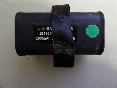 L ion Rechargeable 5200 mAh Battery forVivax Metrotech Vloc Pro 2 Locator