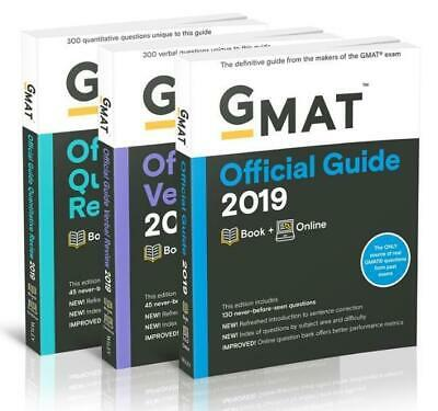 GMAC (Graduate Management Admission Council) ~ GMAT Official G ... 9781119507727