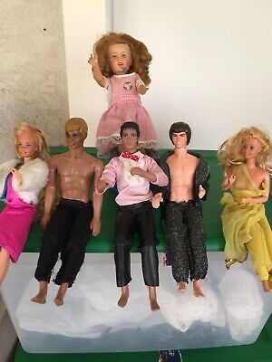 Old, Vintage Dolls & Clothes. Shirley Temple,Barbies, Michael Jackson, Ken