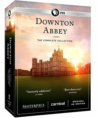 Downton Abbey Complete Series Collection (DVD, 22-Disc Box Set) Region1 NEW