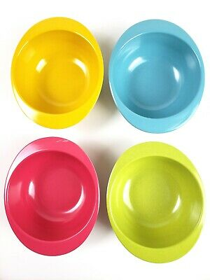 4 Pcs Bamboo Kids Bowls for Baby Feeding Non Toxic & Safe (Sunflower)