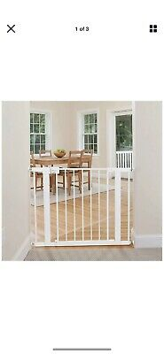 Safety 1st GA105WHOA1 Easy Install Walk Through Gate w/ Pressure Mount New/Other