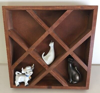 Lovely Wooden Shadow Box Perfect To Display Your Treasures !