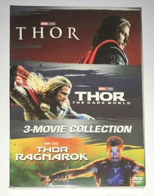 Thor 3-Film Movie Collection (DVD Box Set) 1-3 Trilogy Brand New Fast Shipping