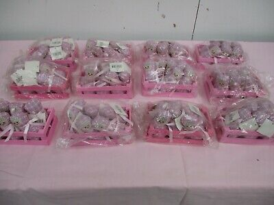 New Joblot Of 72 Puckator Small Weighted Doll In Wood Crate (Outer Wrap Dusty)