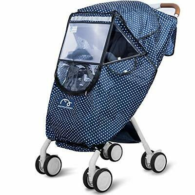 Stroller Rain Cover,Baby Stroller Protective Cover,Protect from Rain Snow Dust
