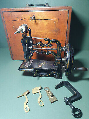 Antique J. G. Weir  Sewing Machine - 1870s