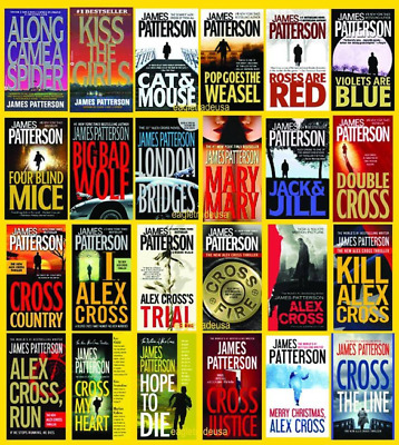 Alex Cross 23 Collection by James Patterson AudioBook collection MP3 Unabridged