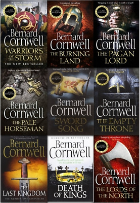 The Saxon Stories 12 Audiobooks Collection Unabridged (MP3) By Bernard Cornwell