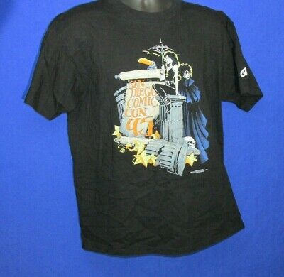 San Diego Comic Con SDCC 1995 Graphitti Designs T-Shirt Mens Death Sandman Large