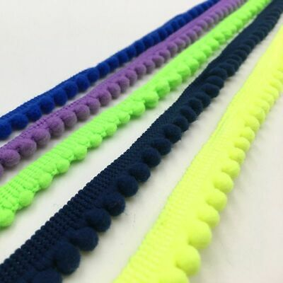 5 Yards Pom Trim Ball 11 Mm Mini Pearl Fringe Ribbon Sewing Lace Handmade