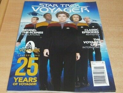 Star Trek Voyager 25th Anniversary Special magazine Behind the scenes & more
