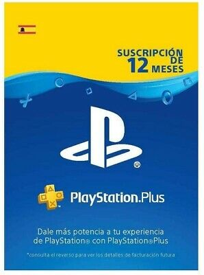 Sony Playstation Plus 12 Meses - Garantia