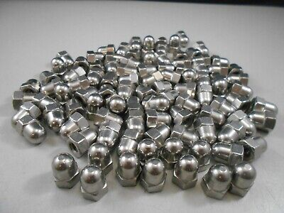 High Crown Cap Nut Stainless Steel 1/4-20 Acorn Cap Nut Lot of 100 Free Shipping