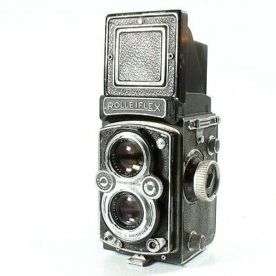 Rolleiflex Automat 6x6 Twin Lens Reflex Camera Made Towards The End Of 1954