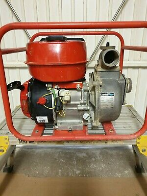 Clarke 6.5 hp 2 inch Petrol Water Pump - fully serviced and new carburetor