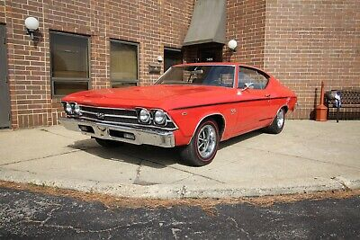 1969 Chevrolet Chevelle SS 396 - 4spd 1969 chevrolet chevelle ss 396 4spd Manual Matching Number 396 325HP 1968