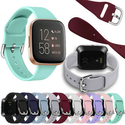 Silicone Watch Band Replacement Bracelet Strap For Fitbit Versa / Versa 2 / LITE