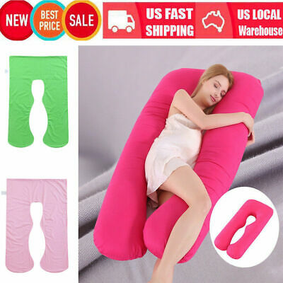 U-Shaped Full Body Pregnancy Pillow Maternity Support for Side Sleeping Cushion