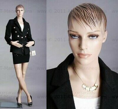 Female mannequin, Realistic Full body manikin +Base, Hand made manequin- FH28
