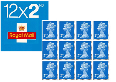 12 x 2ND Class Royal Mail Postage Stamps. Brand New UK letter-100% genuine