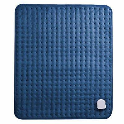 Electric Heat Pad with Auto Shut Off, Large Heated Pad for Back Pain, 6